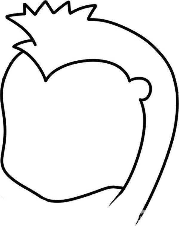 趣味简笔画:海马小护卫绘画步骤