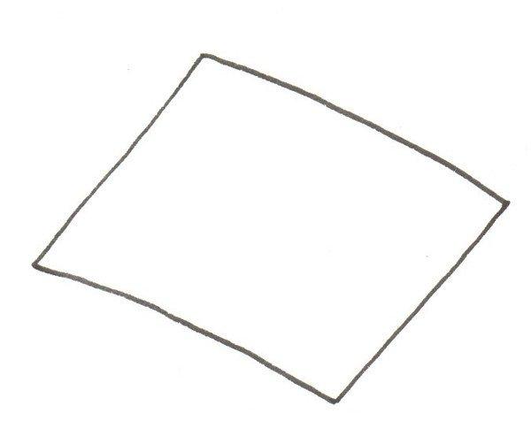 多边形剪纸步骤图