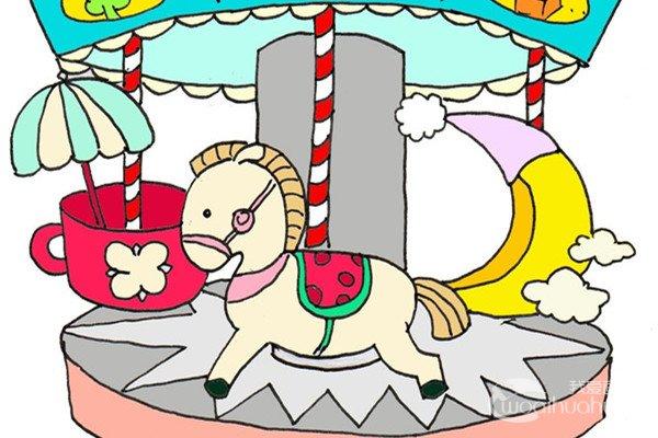 卡通画:果酱的绘画步骤_儿童画教程_学画画_我爱画画网