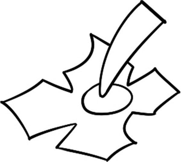 趣味简笔画:软软的柿子绘画步骤教程