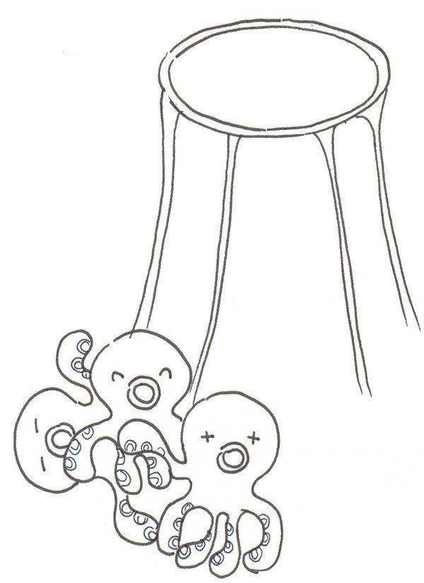 卡通画火锅的绘画步骤教程