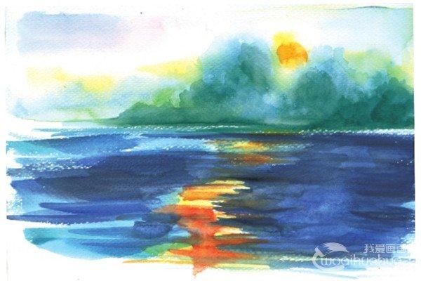 静物水彩画教程:水果的基本作画步骤(7)